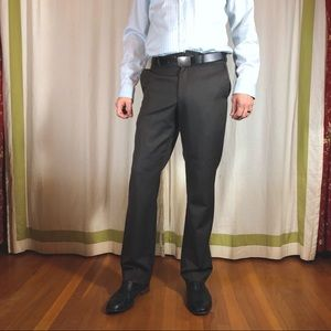 kenneth cole new york 32/34 brown dress pants